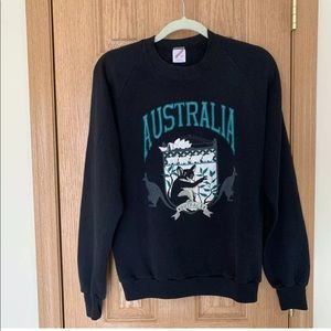 Vintage Jerzees Australia Outback Sweatshirt Rare